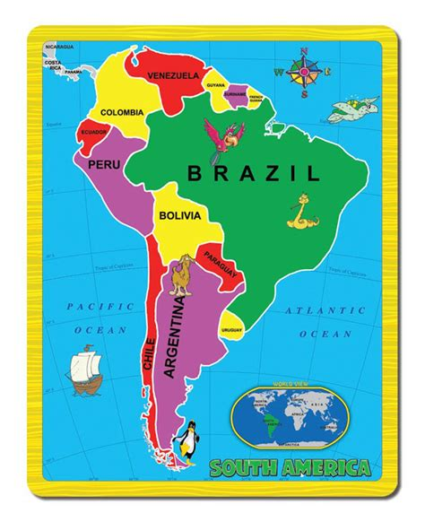 america map puzzle south america the continent puzzle jigsaw puzzle