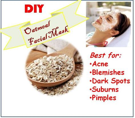 diy oatmeal mask diy facemask all new diy mask