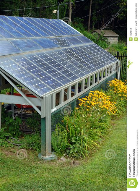 solar power shed stock photos image 1151563