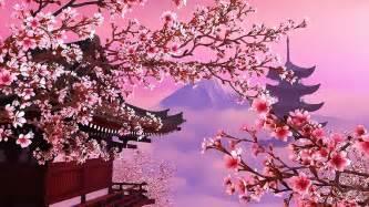 japanese scenery illustration digital art by vrl art