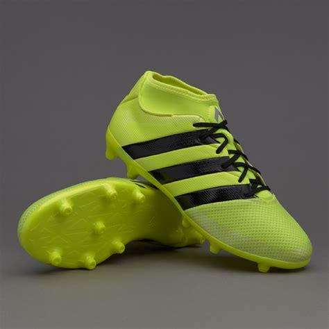 Sepatu Bola Adidas Termahal sepatu bola adidas ace 16 3 primemesh fg solar yellow black silver metallic