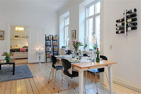 swedish homes interiors swedish 58 square meter apartment interior design with open floor plan digsdigs