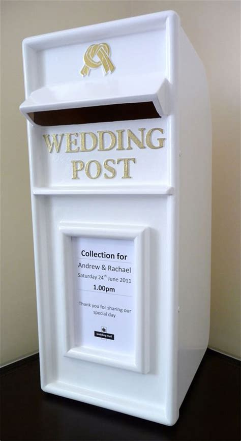 wedding post ideas wedding post box ideas 21 ways to collect your cards in