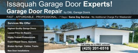 Garage Door Repair Issaquah Issaquah Garage Door Repair Offers 24 7 Emergency Callout Garage Door Repair Service