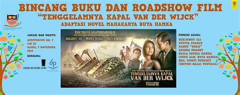 download film indonesia van der wijck tenggelamnya kapal van der wijck gelar bincang buku