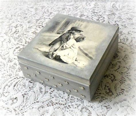 Decoupage Memory Box - 17 best ideas about decoupage box on shabby