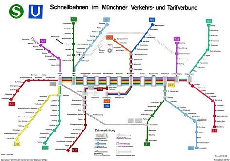 munich metro map maps visualign