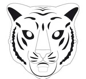 tiger template 60 tiger shape templates crafts colouring pages free