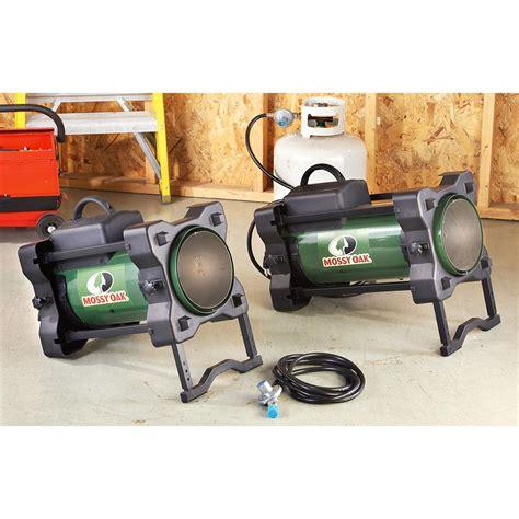 propane heater with fan mossy oak 174 125k btu propane heater 209605 garage