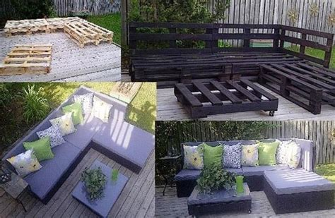 crafty ideas pallet patio furniture dump a day