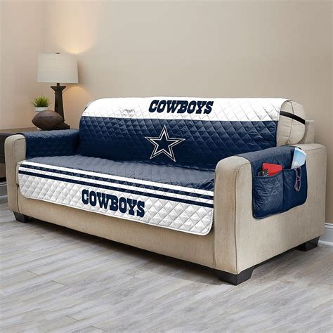 dallas cowboys chair cover dallas cowboys quilted sofa cover multicolor cowboy