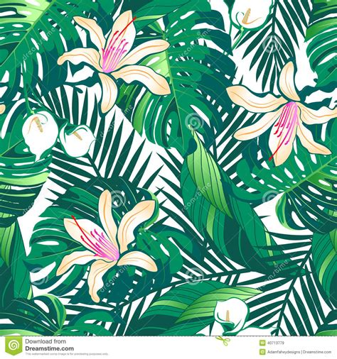 tropical wallpaper pattern tumblr tropical floral wallpaper google претрага inspiration