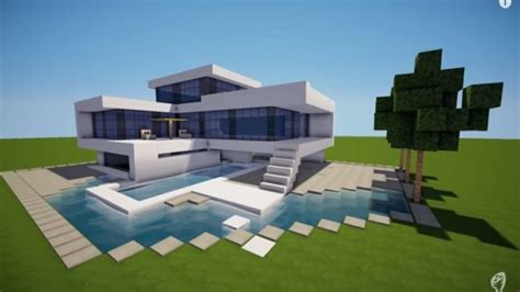 minecraft modern house floor plans modern minecraft mansion minecraft modern house modern