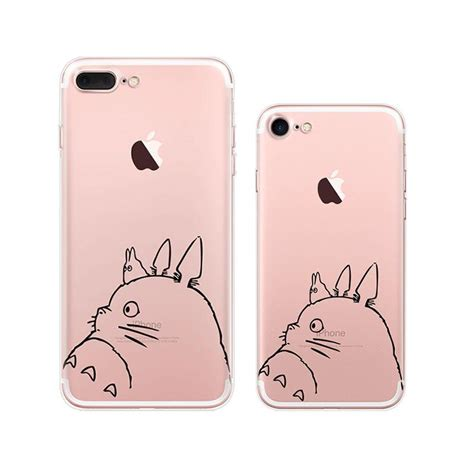 Iphone 5 Sai 7 Plus Custom Softcase Casing Sinar Ba 007 totoro iphone 7 plus soft clear cases mavasoap