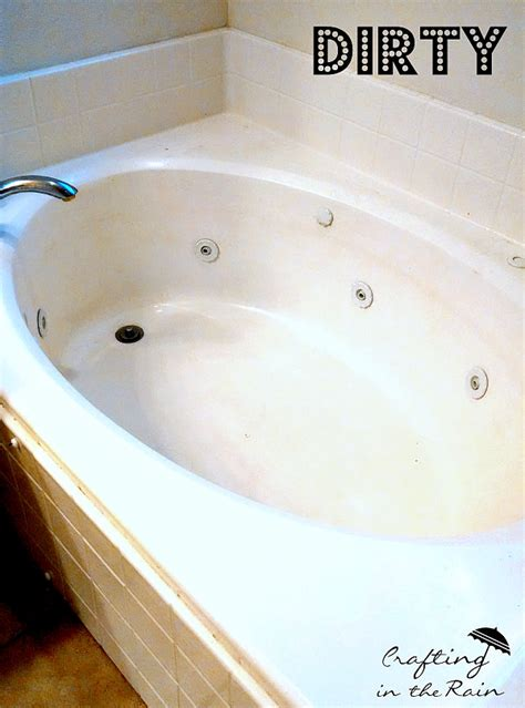 Cleaning Bathtub Jets by How To Clean A Jetted Tub Crafting In The