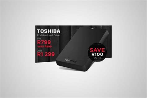 Toshiba Portable Ssd X10 120gb Murah amazing tech specials from makro and