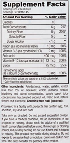Vitafusion Fiber Well Fit Gummies 90 Count vitafusion fiber well fit gummies 90 count 599038029805