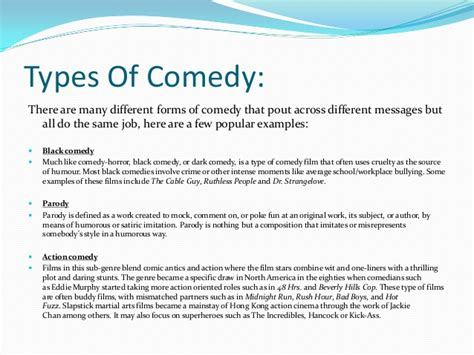 film comedy syllabus comedy academic research