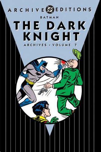 batman vol 7 1401256899 trade reading order 187 batman the dark knight archives vol 7
