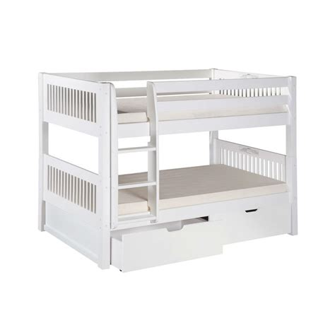 bunk bed ladder with drawers white bunk bed with bottom storage drawers