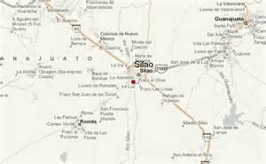 Guanajuato Mexico Map by Silao Location Guide