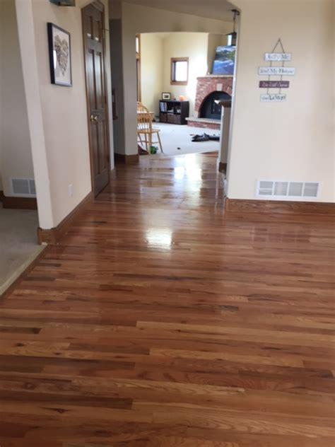 Neutral Stain  Red Oak Jade Floors