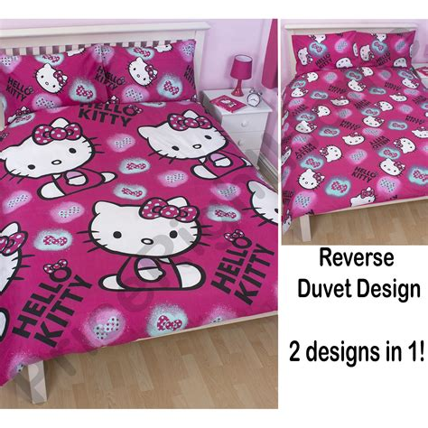 hello kitty bedroom accessories hello kitty ink matching bedding and bedroom accessories childrens new design ebay