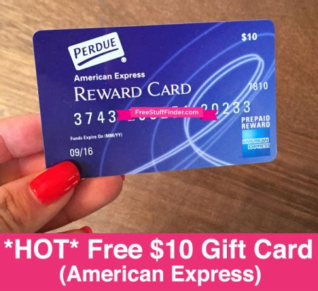Cvs American Express Gift Cards - hot free 10 american express gift card from perdue