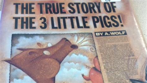 true story of the true story of the three pigs on vimeo