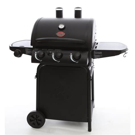 char griller grillin pro 3 burner propane gas grill in