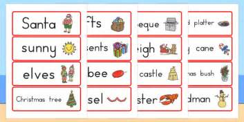 christmas words that start with n australian word cards celebrations words literacy