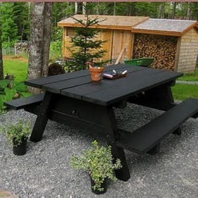 backyard picnic table pinterest