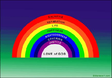 what are the colors in the rainbow colors of the rainbow