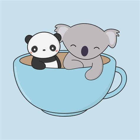 imagenes de koalas kawaii kawaii cute koala and panda koala long sleeve t shirt