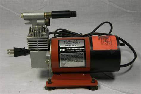 badger 80 1 airbrush compressor