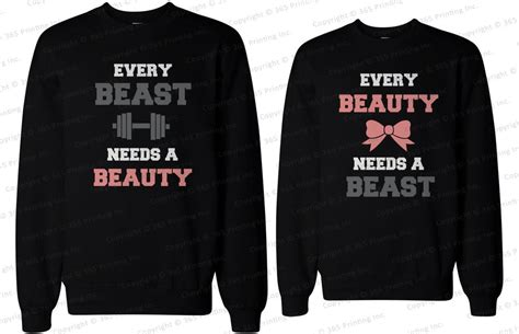 Matching Sweatshirts For Couples His And Matching Sweatshirts Every Needs