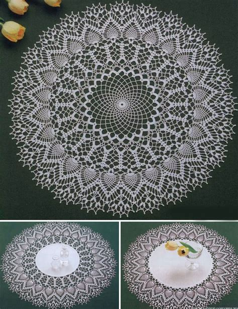 bandana pattern coreldraw three beautiful crochet doily pattern crochet kingdom