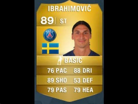 ibrahimovic tattoo fifa 14 fifa 14 ibrahimovic 89 player review in game stats