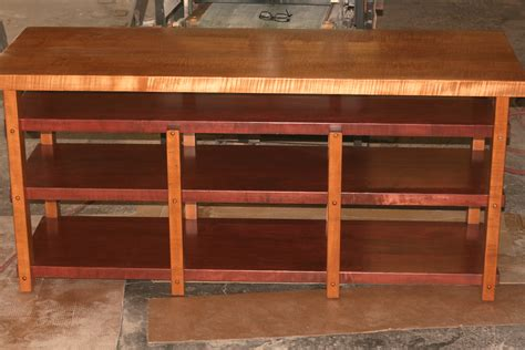 Shelf For Stereo by Custom 4 Shelf Audio Rack With Three 2 Quot Thick Cherry