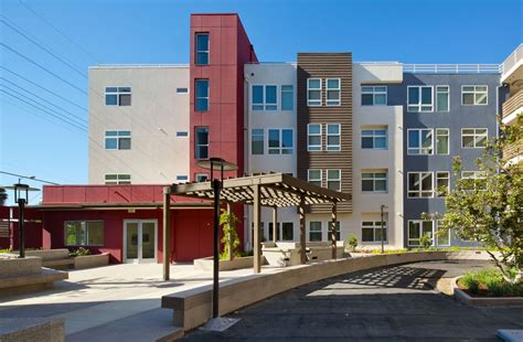 Gardena Ca Senior Services Affordable Housing Completed In South L A Urbanize La