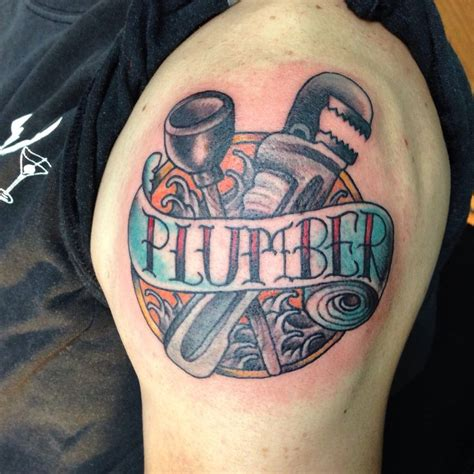 plumber tattoo tattoos by tisha california gmail com