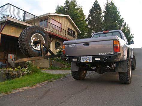 fab swing com relentless fab 96 2004 tacoma rear plate bumper tacoma