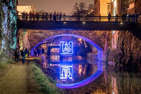Georgetown Glow Is Back With Incredible Light Art Georgetown Lights