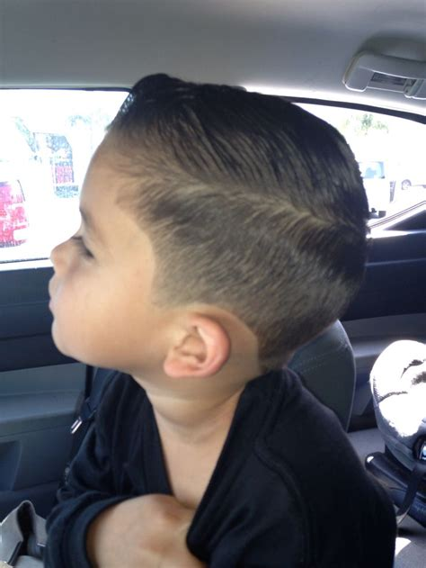 little boy haircut boy hair cut side view for those who have been asking