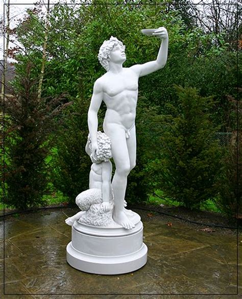 Statue Garden by Classical Marble Statue Of Bacchus The God Of Wine And