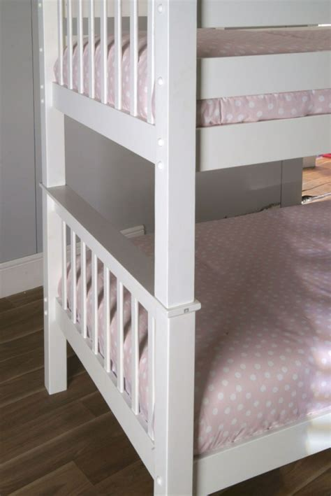 white wood loft bed limelight pavo white wooden bunk bed by limelight beds