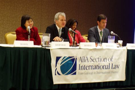 Aba International Section by Speeches And Meeting Pictures