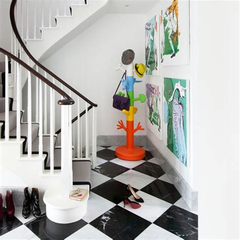 Home Interior Paint Ideas painted stairs ideal home