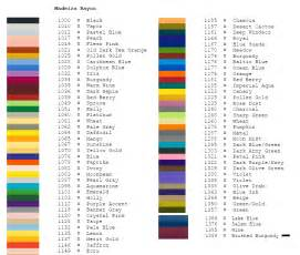 madeira thread color chart madeira stock thread colors