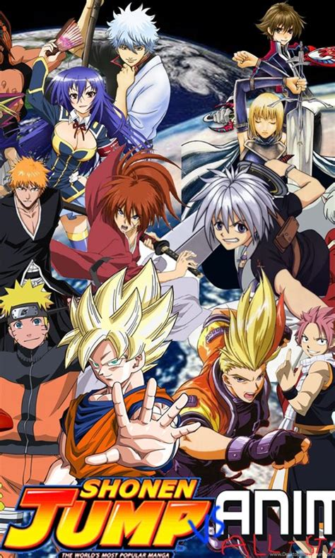 anime  shonen jump protagonists  supersaiyancrash